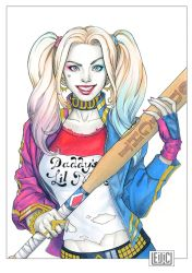 Suicide Squad Harley Quinn by WeijiC