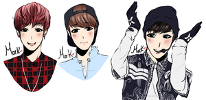 GOT7 Mark by Rinspirit-Art