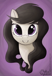 Tiny Horse Cellist Face by muffinexplosion