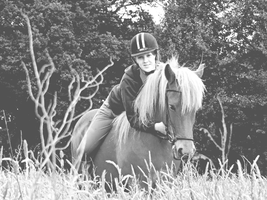 Me an my Icelandic Horse by AgnethaArt