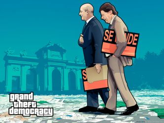 Grand Theft Democracy Los Ignacios by Loctary