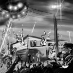Zombies, Mobsters and RockRoll by Germille