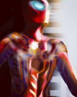 Avenger-Iron Spider  by TheSpiderMonkey97