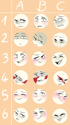 Expressions meme (Challenge) by Firefoxgirl96