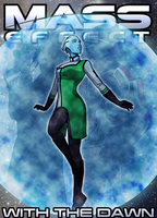 Mass Effect: With The Dawn - Cover 1 by HelenKG