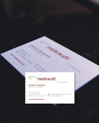 b card for business consultant by crossbow
