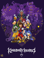 Kingdom Hearts - Darkness of the Heart by IronClark