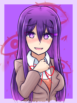 Doki doki literature club - Yuri2 by JustPlainAni