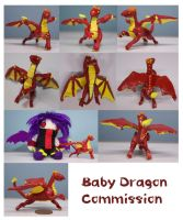 Baby Dragon Commission by Galidor-Dragon
