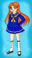 CC-Sakuras Winter Uniform by Animecolourful