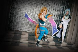 FF Dissidia: Their difference by ashteyz