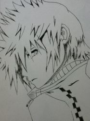 Another Roxas by Cheese-wolf