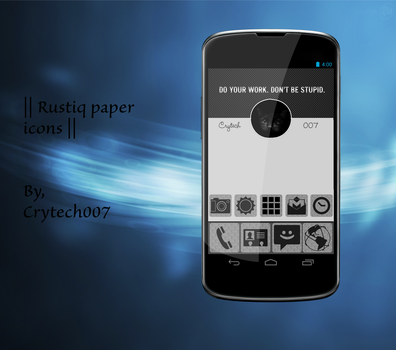 || Rustiq paper icons || by Crytech-007