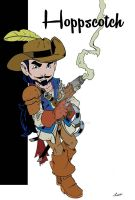 Hoppscotch: Pathfinder Gnome Musketeer by wonderfully-twisted