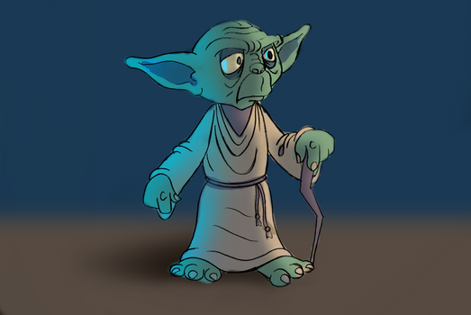 Yoda Cleanup Test by thegroon