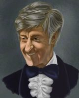 the Third Doctor by skullclutter