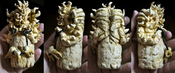 IVORY ESQUIMAUX CTHULHU IDOL - GREENLAND WRECK by mortonskull