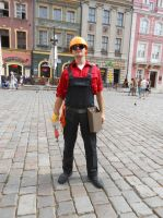 Team Fortress 2 cosplay - Engineer by SzatanskiLisek