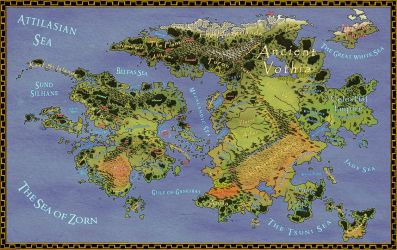 The World of Aeran - Revised by ZenithComics