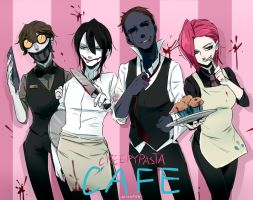 Creepypasta Cafe by Alloween