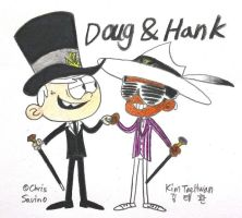 Doug Linc and Hank Clyde by komi114