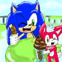.:Sonic And Chip:. by ZKCats