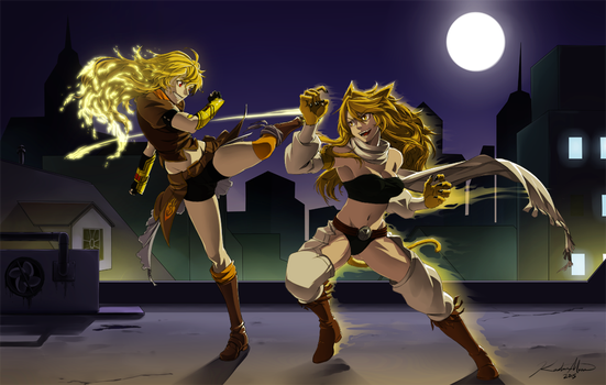 Yang vs Leone by baka-kiiro