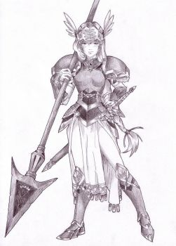 Lenneth Valkyrie by Radprofile