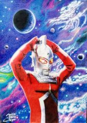 ULTRASEVEN by JULIOART