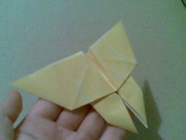 Origami: Butterfly by saria-the-elf