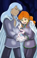 Sailor Moon: Kunzite Zoisite - A Beautiful Spell by neo-dragon
