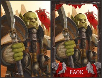 Blizzcon Badge - Eaok by MattDeMino