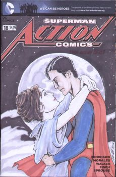 Superman and Lois by shinlyle