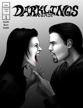 Darklings - Issue 1 Cover by RavynSoul