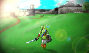 Hyrule Field by Royalty-Doc
