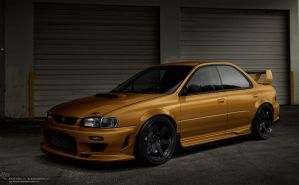 Subaru Impreza GC8 by Cop-creations
