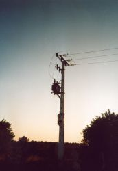 Power Pole by abfall