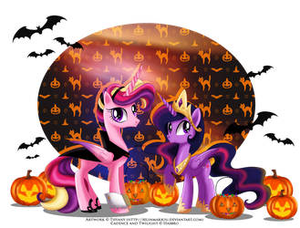 a Royal 'trick or treat' by tiffanymarsou