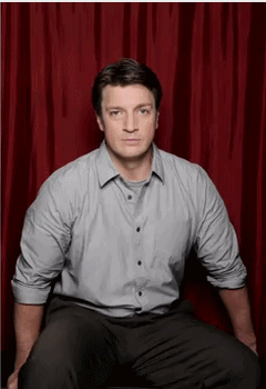 Nathan and Stana [gif] by bubblenubbins