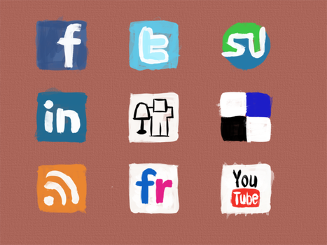 Social Media Icons by katefosson
