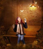 Open your eyes and watch fairy by Marjie79