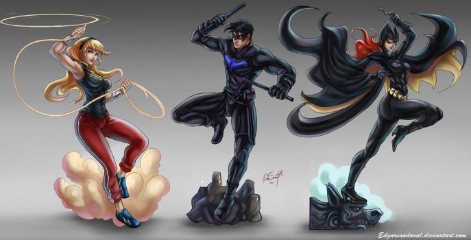 Young Justice by EdgarSandoval