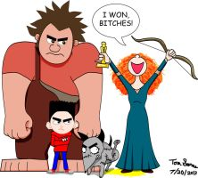 Brave Got The Oscar by Wolfram-And-Hart