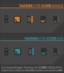 TAKMEK for CORE.VisualStyle by aMADme