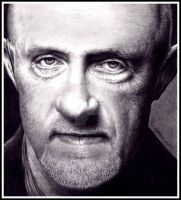 Jonathan Banks as Mike - BREAKING BAD by Doctor-Pencil