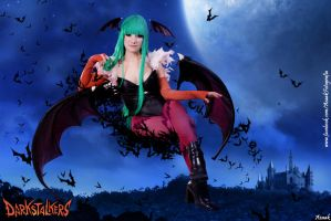 Morrigan Aensland - 'I want to steal you away...' by Azaak
