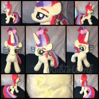 BronyCon '17 - MLP 10 inch Moondancer Plushie by RubioWolf