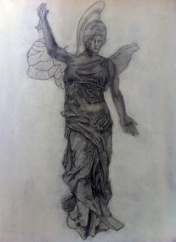Victory Of Samothrace Rebirth_sketch by mercy