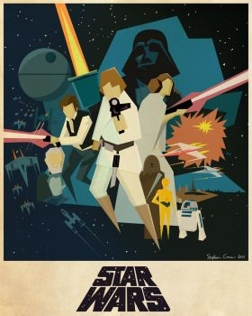 Star Wars Poster by Cranimation
