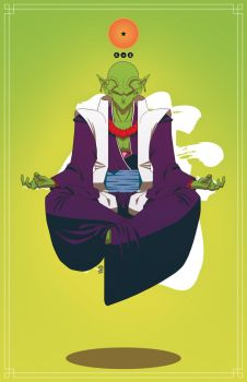 Dragon Ball Bushido : Piccolo by Rotten15Samke